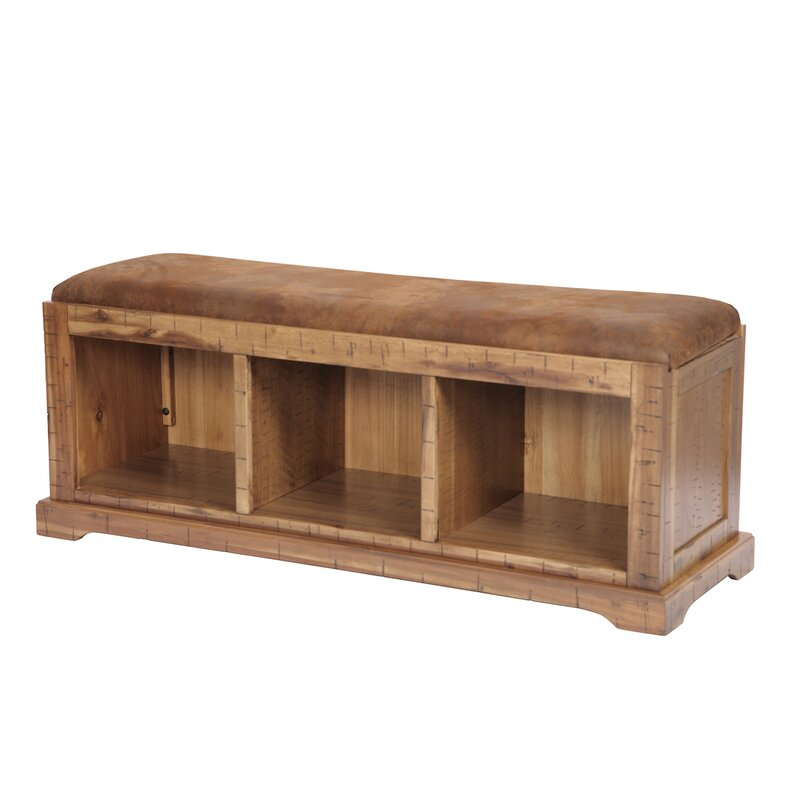 Donovan Solid Wood Hall Storage Bench