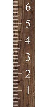 Jerald Wooden Growth Chart