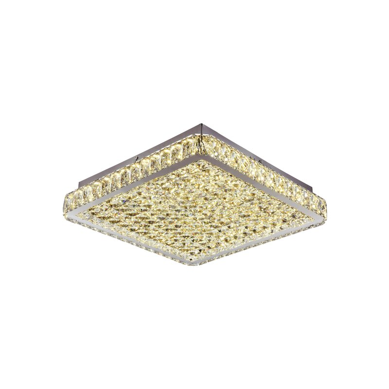 Rosdorf Park Kristofer LED Flush Mount