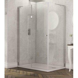 Stoney Walk In Shower and Side Panel by Belfry Bathroom