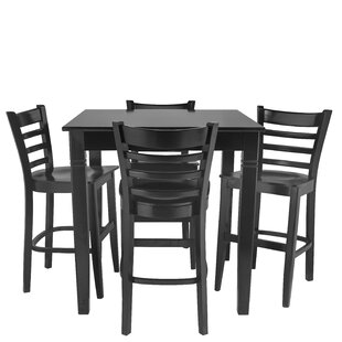 Weisberg 5 Piece Pub Table Set