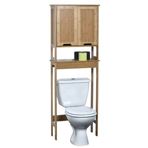 Solid Wood Over-the-Toilet Storage You'll Love | Wayfair