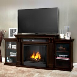 Real Flame Calie 67 TV Stand With Gel Fireplace Reviews