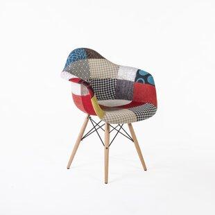 Delicieux Patchwork Mid Century Armchair