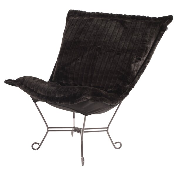 Exceptionnel Scroll Puff Chair   Wayfair