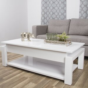 Kayla Coffee Table with Lift-Top by Matrix