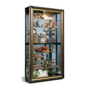 Renoir Museum Lighted Curio Cabinet