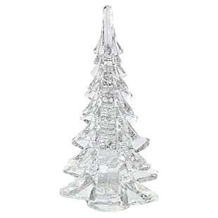mouth blown art glass 12 christmas tree