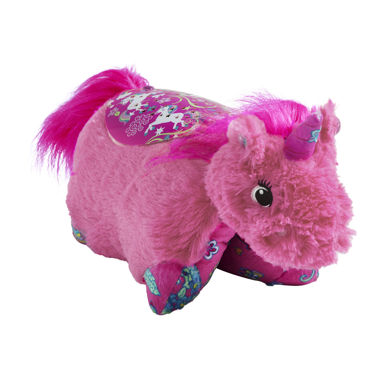 Pillowpets Sleeptime Lite Colorful Pink Unicorn Plush Night Light