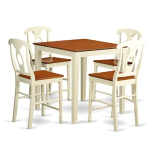 Neven 5 Piece Pub Table Set