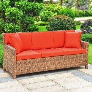 Wicker Sofa Cushions Wayfair