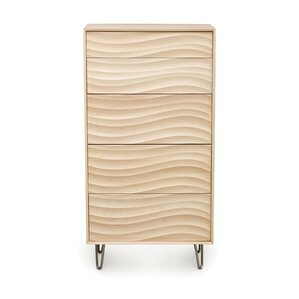 Wave 5 Drawer Chest by Copeland Furniture