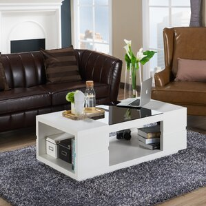 Kennison Contemporary Coffee Table by Ivy Bronx