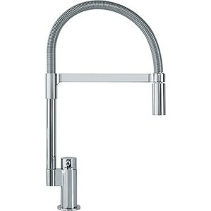 Franke Manhattan Single Handle Deck Mounted Kitchen Faucet with Pull Down Spray