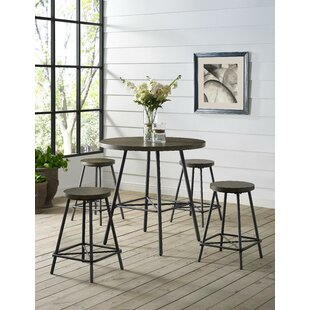 Noelle 5 Piece Pub Table Set Today Only Sale