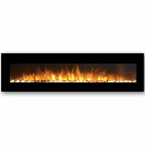 Florence Pebble Wall Mount Electric Fireplace by Gibson Living