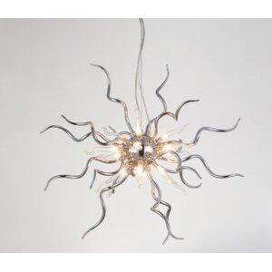 Twist 15-Light Sputnik Chandelier