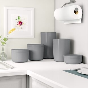 5 Piece Kitchen Canister Set