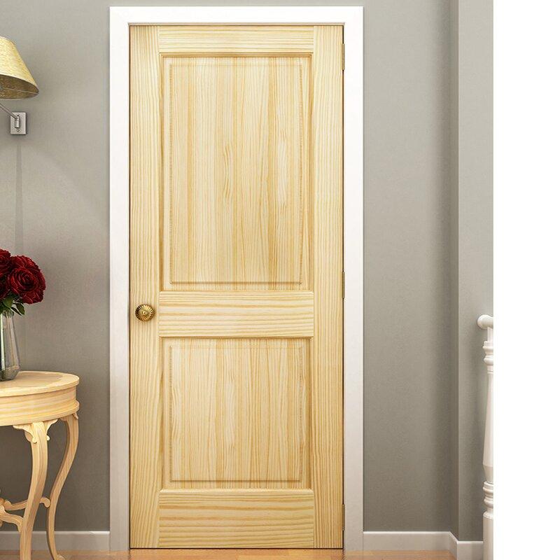 Superior Colonial 2 Panel Solid Pine Slab Interior Door