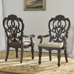 Valerian Upholstered Dining Arm Chair (Set of 2)