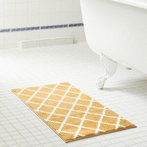 Jeanie Jacquard Microfiber Bath Rug