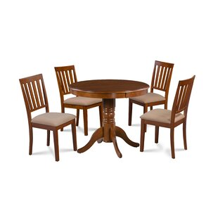 Dahlquist 5 Piece Solid Wood Dining Set