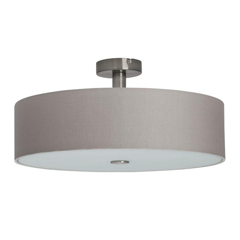 white flush ceiling lights designs
