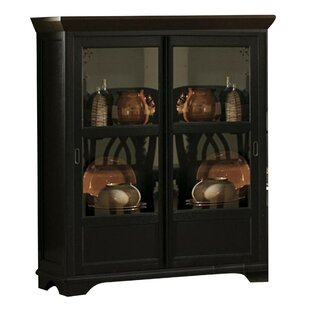 Beaudin Wooden Corner Curio Cabinet