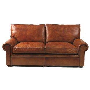 Seville Genuine Leather Loveseat