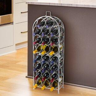 Egremont 23 Bottle Floor Wine Rack