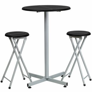 Kuehn 3 Piece Pub Table Set
