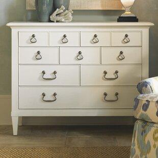 Ivory Key Elbow Beach 8 Drawer Dresser