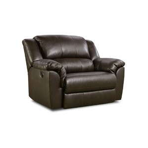 Simmons Fredericksburg ReclinerOversized Recliners You ll Love   Wayfair. Reclining Chair And A Half Leather. Home Design Ideas