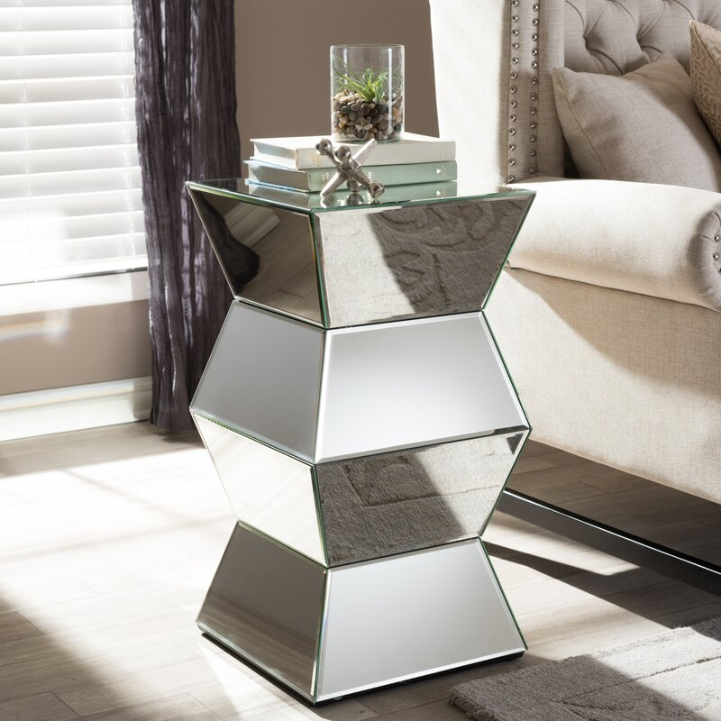 Wholesale Interiors Baxton Studio Sakina End Table Reviews Wayfair