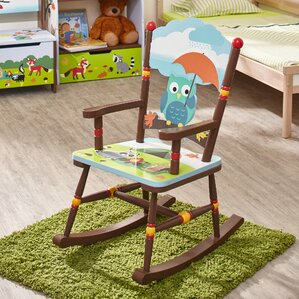 Enchanted Woodland Kids Rocking Chair by Fantasy Fields