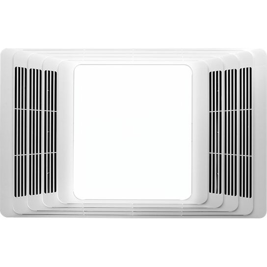 Nutone 70 Cfm Ceiling Exhaust Bath Fan W Night Light And: Broan 70 CFM Bathroom Fan With Light & Reviews