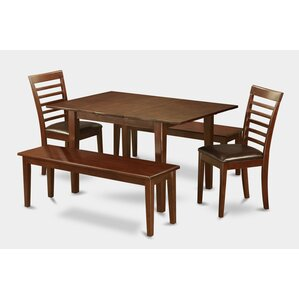 Picasso 5 Piece Dining Set by Wooden Impo..