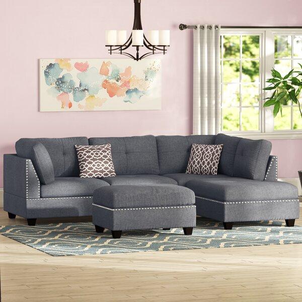 Bainbridge Fabric Sectional | Wayfair