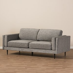 Brittany Retro Mid-Century Loveseat by Wholesale Interiors