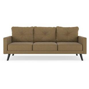 brown suede sofa wayfair rh wayfair com brown suede sofa living room brown suede corner sofa