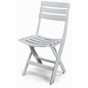 Queen Resin Outdoor Bistro Folding Dining Chair by Swift Garden Furniture