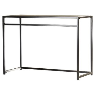 Burke Glass 3 Piece Console Table Set
