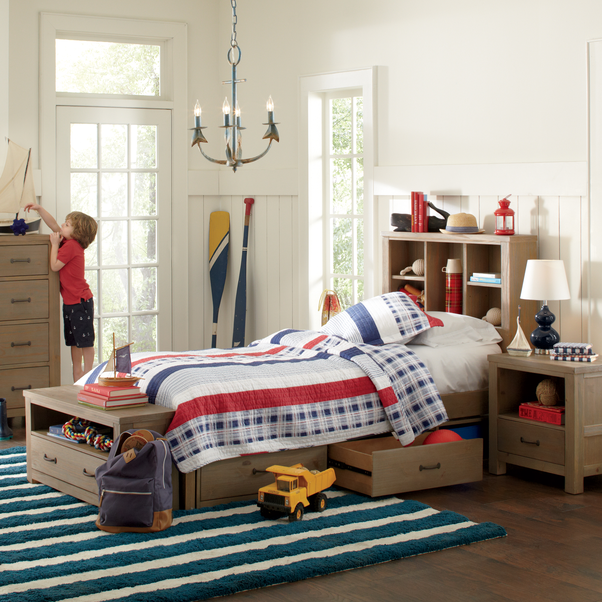 Farmhouse & Rustic Kids Bedroom Furniture | Birch Lane