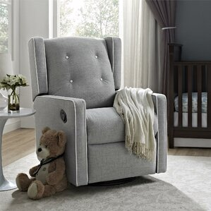 swivel rocking chairs for living room. Ann Swivel Glider Small Rocker Chair  Wayfair