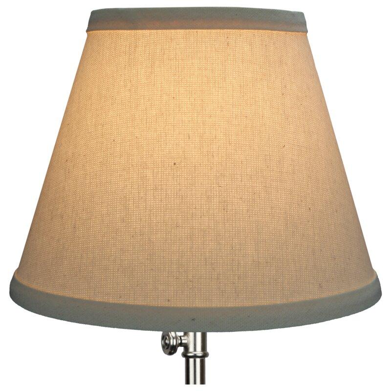 Fenchel shades 9 linen empire lamp shade reviews wayfair 9 linen empire lamp shade aloadofball Images