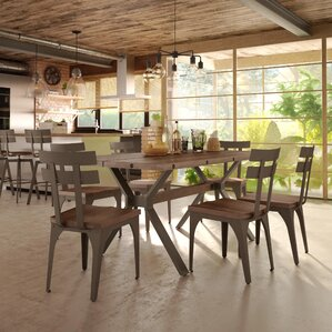 Darcelle 5 Piece Wood Dining Set by 17 St..