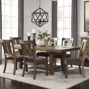 Pyron Counter Height Extendable Dining Table