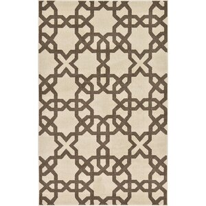 Molly Stain-Resistant Beige Area Rug