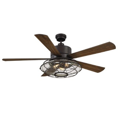 52 moody 5 blade ceiling fan with remote reviews joss main 56 roberts 5 blade ceiling fan with remote control publicscrutiny Image collections