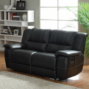 Cantrell Double Reclining Loveseat by Woodhaven Hill